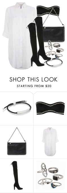 """Untitled #3608"" by plainly-marie ❤ liked on Polyvore featuring Monica Vinader, Norma Kamali, STELLA McCARTNEY, Monsoon, Stuart Weitzman, Mudd, women's clothing, women, female and woman"