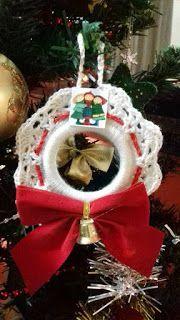 Tati  Artesanatos: Guirlandinhas de Natal