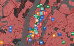 A new map compiles location-based data to find the most useful resources should the dead rise to kill the living.