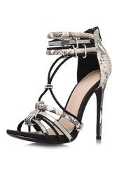 **High Heel Strappy Sandals by KG