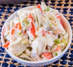 Crab Salad Recipe Without Mayo.Crab Salad Seafood Salad Dinner Then Dessert. Crab Salad With Ponzu Mayonnaise Dressing Just . Mel's Crab Salad Allrecipes Com ***For 2 Packages I . Sea Food Salad Recipes, Fish Recipes, Seafood Recipes, Dinner Recipes, Cooking Recipes, Healthy Recipes, Recipe For Crab Salad, Cooking Tips, Summer Salads