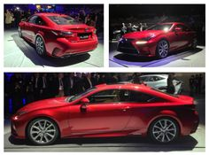 The new Lexus RC at the 2013 Tokyo Motor Show