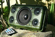 Make a DIY Heavy Duty Outdoor Bluetooth Speaker
