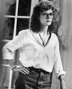 Starring alongside Tommy Lee Jones in the thriller The Client, Susan Sarandon was the epitome of sophistication in the closet staple while playing a lawyer defending an 11-year-old boy.