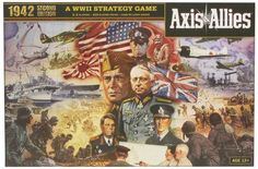 Wizards of the Coast Axis and allies 1942 Second Edition, Board Games - Amazon Canada
