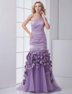 Mermaid Lavender Organza Floral Sweetheart Fashion Prom Dress. Mermaid Lavender Organza Floral Sweetheart Fashion Prom Dress. See More Mermaid at http://www.ourgreatshop.com/Mermaid-C939.aspx