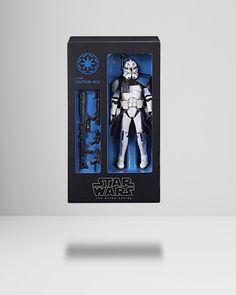 Star Wars Black Series-Figurine Captain Rex 15 cm New Nice