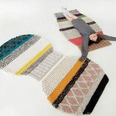Patricia Urquiola rugs... crafty!