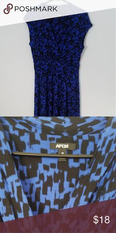51a82835cf3 Apt 9 Maxi Dress Blue and black Apt 9 Maxi. Worn once. Apt. 9 Dresses Maxi
