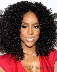 16 Inches Capless Black 100% Silk Remy Human Hair Wigs