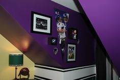 Baltimore Ravens Room Ideas   Google Search Or Bucs Colors With Fat Head Of  One Of