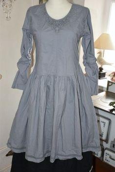 Ewa i Walla, Kleid, dress, 55472, crisp cotton, dove