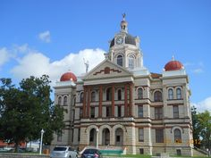 coryell county courthouse . texas