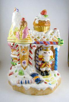 Fitz Floyd Nutcracker Cookie Jar