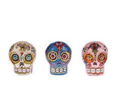 Love these skull knobs!! Cupboard Door Knobs, Drawer Knobs, Drawer Pulls, Sugar Skull Decor, Sugar Skull Design, Sugar Skulls, Diy Drawers, Skull Fashion, Painted Sticks