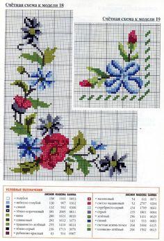 123 Cross Stitch, Cross Stitch Borders, Cross Stitch Flowers, Cross Stitch Designs, Cross Stitching, Cross Stitch Embroidery, Cross Stitch Patterns, Hand Embroidery Flowers, Needlepoint Patterns