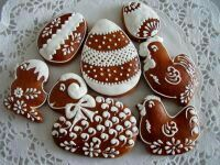 Easter Cookies, Egg Decorating, Royal Icing, Let Them Eat Cake, Gingerbread Cookies, Frosting, Biscuits, Sweet Treats, Food And Drink