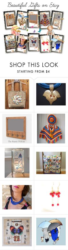 """""""Beautiful Gifts on Etsy"""" by cozeequilts on Polyvore featuring Lampara and rustic"""
