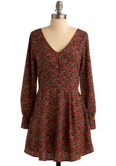 Let's Be Buds Dress, #ModCloth