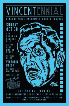 Vincent Price by Mitch O'Connell