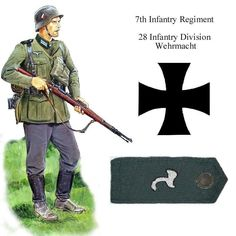 Ww2 Uniforms, German Uniforms, German Soldiers Ww2, German Army, Wehrmacht Uniform, Army Divisions, Ww2 Weapons, Military Art, Military History