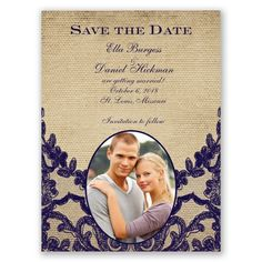 Honeymoon Lace - Save the Date