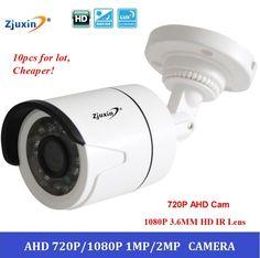$145.33 (Buy here: https://alitems.com/g/1e8d114494ebda23ff8b16525dc3e8/?i=5&ulp=https%3A%2F%2Fwww.aliexpress.com%2Fitem%2F100pcs-lot-new-720P-AHD-Camera-CCTV-Surveillance-camera-HD-5-24-IR-LED-1080P-3%2F32720654307.html ) 10pcs/lot 720P AHD Camera,AHD Cam indoor High Definition IR Bullet Camera 1.0MP 720P 5*24 ir led  AHD CCTV Security Camera for just $145.33