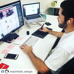 #Repost @macintosh_setups with @repostapp  Follow  My new EDC page @worldedc  The best shop @gearbest.fashion  @the_gearbest  Photo: @teamhomeyou  #apple #applegeek #macintosh #photographer #everydaycarry #workspace #html5 #geek #developer #workplace #javascript #macos #webdeveloper #vanagonlife #macbook #ux #php #programming #mysql #softwaredeveloper #arduino #picture #linux #art #designer #workstation #java #coder #travel by clifordesign