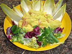 Sugg-r and some Salt: cinco ensaladas de verano con fruta {invitadas} #ponunaensalada Guacamole, Cabbage, Mexican, Vegetables, Ethnic Recipes, Food, Ideas, Sauces, Sweets