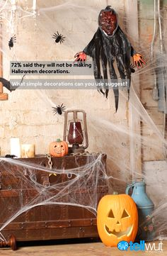 Do you make your own Halloween decorations? For 10 Tellwut points by Monday, Nov.2, repin the image  and suggest an easy to make craft! Don't forget your Tellwut username in the comments as well.