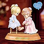 aaawww!! Precious Moments: Sisters Are Tied Together With Love Music Box Keepsake