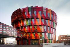 Chalmers University of Technology | Gothenburg Sweden [2000x1356] (xpost r/bizarrebuildings) via Classy Bro
