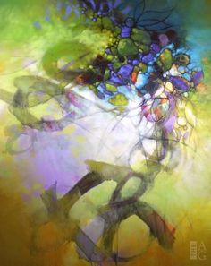 SB94 Blu Smith Apparitions 48×60