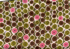 Pink, brown, and olive green spots by cluttershop, via Flickr
