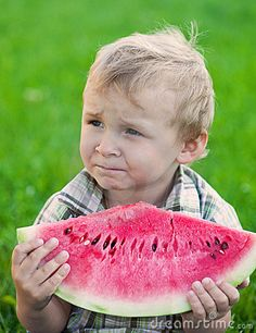 Sitting under the front porch light on a hot summer night eating watermelon with your cousins. Did it get any better?
