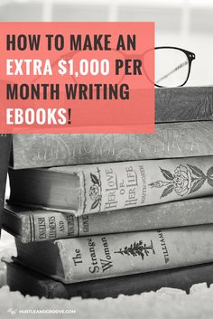 How to make an extra $1000 each month writing ebooks! Click through to learn…