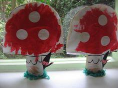 SB E. Van Glabbeke - Eerste Kleuterklas School Holidays, Art Plastique, Techno, Stuffed Mushrooms, Entertaining, Halloween, Projects, Crafts, Drama