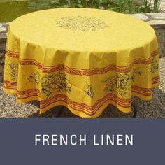 French Linens #JillsTable French Linens, Outdoor Furniture, Outdoor Decor, Ottoman, Tableware, Shopping, Home Decor, Homemade Home Decor, Dinnerware