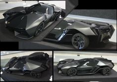 From the darkest depths of the design mind of the one called Slavche Tanevski comes THIS! The Lamborghini *Ankonian. It's black. It's sharp. It's just fabulous. It's named after a bull famous for its black hair, which follows the Feruccio Lamborghini (creator of the auto brand) tradition of naming cars after bulls. This bad boy is a proposal for the first Lamborghini hybrid scheduled for 2016.