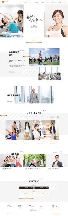 Web Design, Layout Design, Graphic Design, Blog Website Design, Web Inspiration, Design Reference, Art And Architecture, Landing, Orange Color