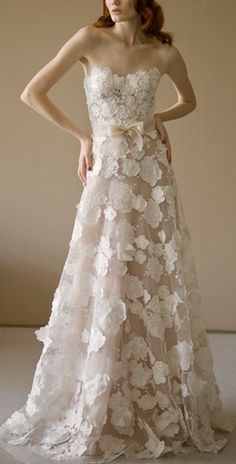 Mira Zwillinger 'Beatrice' gown.