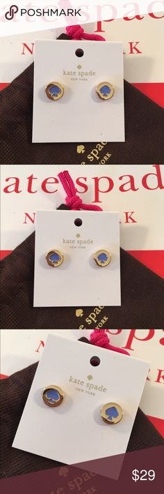 🆕KATE SPADE NEW EARRINGS 💯AUTHENTIC KATE SPADE NEW WITH TAGS NEVER WORN EARRINGS 100% AUTHENTIC. STUNNING AND STYLISH . PERFECT FOR ANY OCCASION. TIMELESS HIGH END DESIGN. COMES WITH A KATE SPADE FABRIC GIFT BAG kate spade Jewelry Earrings