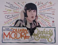 333: ORCHIDS AND ERMINE COLLEEN MOORE : Lot 333