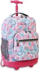 JWorld Sunrise Blue Raspberry 395-00001-15 Suitcase, Raspberry, Sunrise, Backpacks, Blue, Backpack, Raspberries, Briefcase, Sunrises