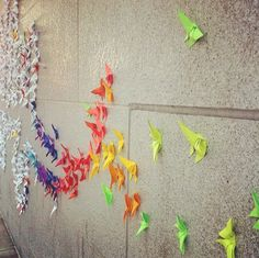Pretty Origami Typography Spotted in San Francisco Street - My Modern Metropolis