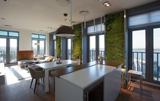 Green Apartment by SVOYA Studio