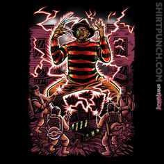 """""""Nightmare Busters"""" by NibiruHybrid is $10 today at ShirtPunch.com (09/05/2016)."""