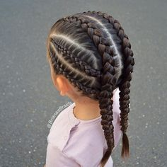 Tight braids for the ✈️Girls are so excited. P… - Hairstyles 2019 Tight braids for the ✈️Girls are so excited. # small Braids inspiration Tight braids for the ✈️Girls are so excited. P… - Hairstyles 2019 Baby Girl Hairstyles, Kids Braided Hairstyles, Box Braids Hairstyles, Trendy Hairstyles, Teenage Hairstyles, 1950s Hairstyles, Simple Hairstyles For Girls, Wedding Hairstyles, Toddler Hairstyles