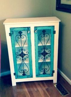 Vintage Look Sideboard, Bathroom Storage, Small Sideboard, Storage Ideas, Recycled Furniture, Painted Sideboard, Storage cabinet on Etsy, $399.00