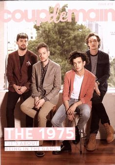 "Interview: the 1975 - ""it's about being in the gang. Matthew Healy, Dont Fall In Love, My Love, Lana Del Rey Vinyl, The 1975 Me, Courtney Barnett, Vince Staples, Leon Bridges, George Daniel"